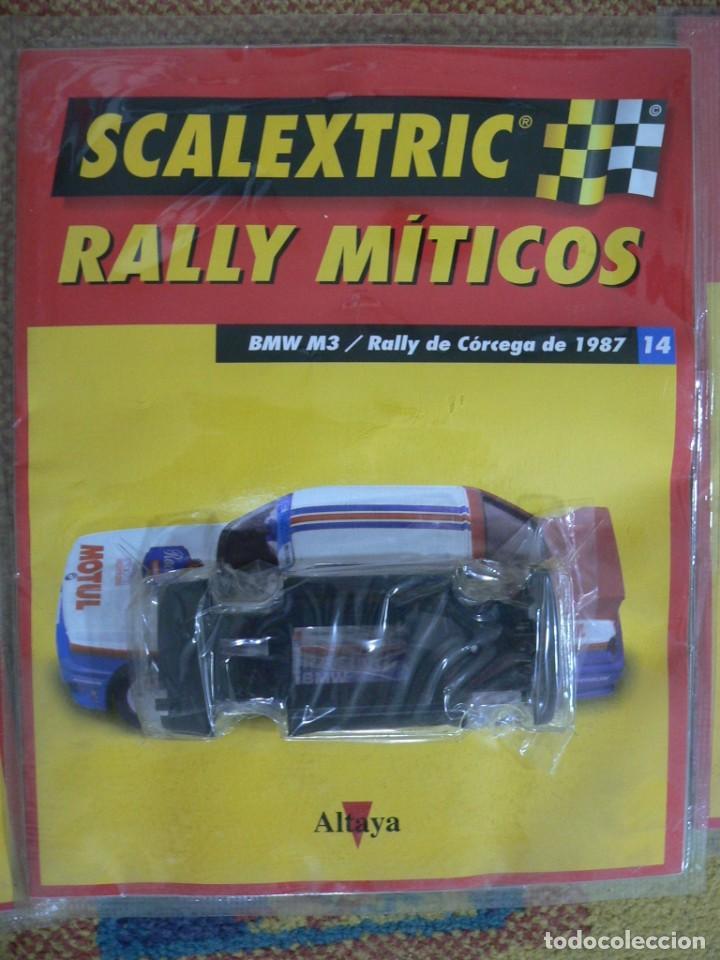 Scalextric: Coche SCALEXTRIC .BMW M3.. Colección Rally míticos de Altaya. Completo. Certificado. - Foto 3 - 242464510