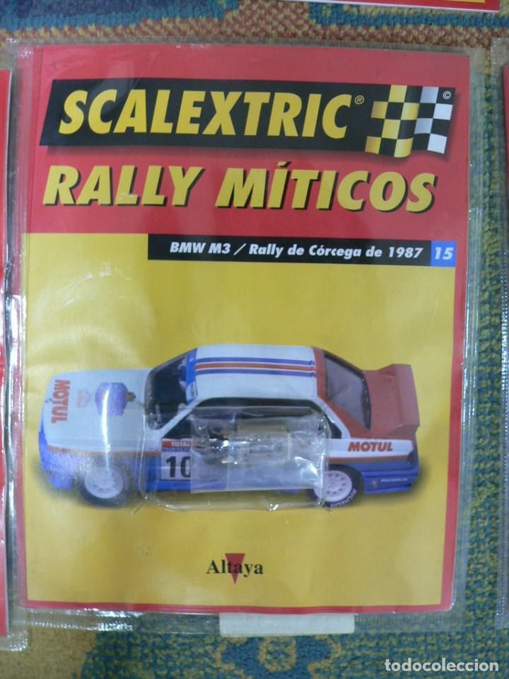 Scalextric: Coche SCALEXTRIC .BMW M3.. Colección Rally míticos de Altaya. Completo. Certificado. - Foto 4 - 242464510