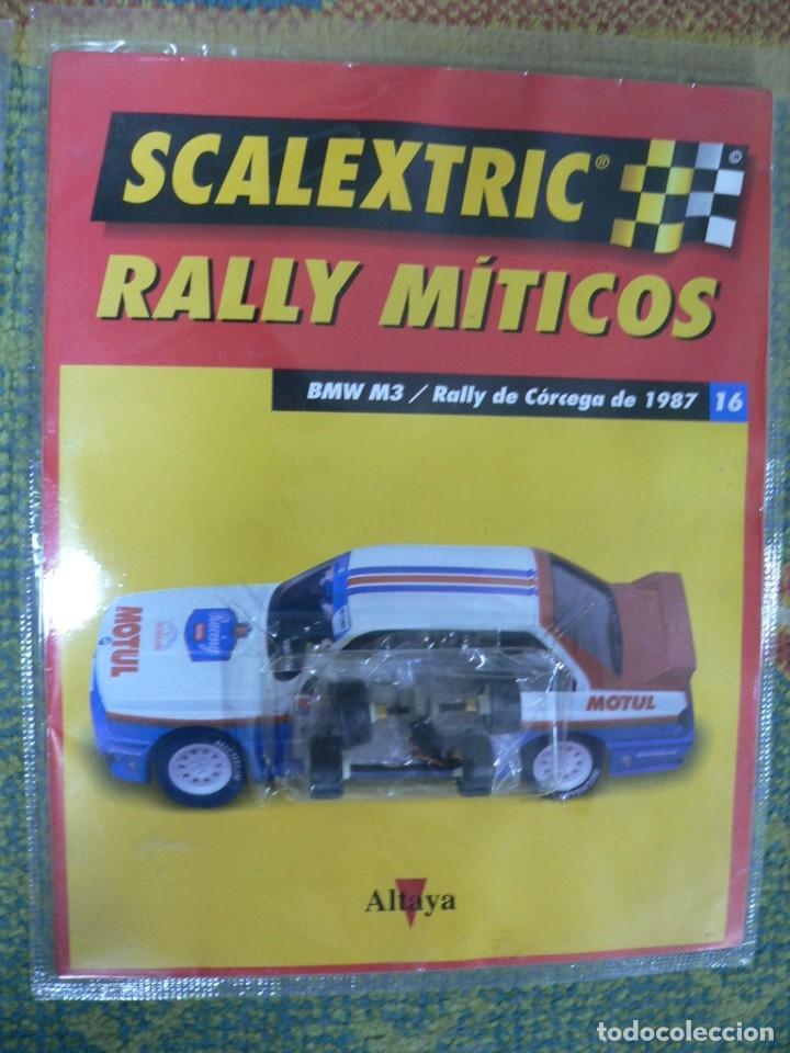 Scalextric: Coche SCALEXTRIC .BMW M3.. Colección Rally míticos de Altaya. Completo. Certificado. - Foto 5 - 242464510