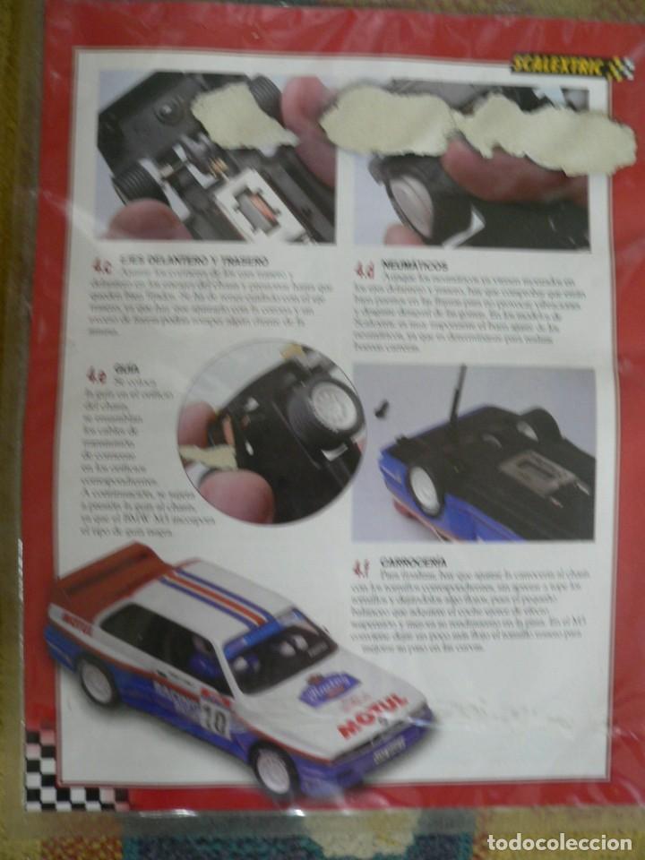 Scalextric: Coche SCALEXTRIC .BMW M3.. Colección Rally míticos de Altaya. Completo. Certificado. - Foto 6 - 242464510