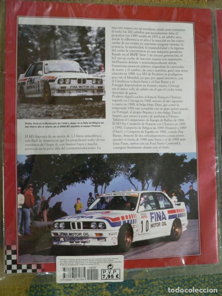 Scalextric: Coche SCALEXTRIC .BMW M3.. Colección Rally míticos de Altaya. Completo. Certificado. - Foto 8 - 242464510