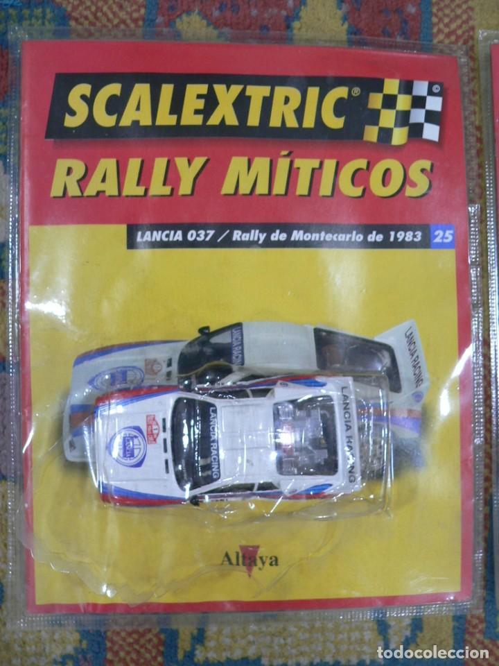 COCHE SCALEXTRIC .LANCIA 037. COLECCIÓN RALLY MÍTICOS DE ALTAYA. COMPLETO. CERTIFICADO. (Juguetes - Slot Cars - Scalextric Tecnitoys)