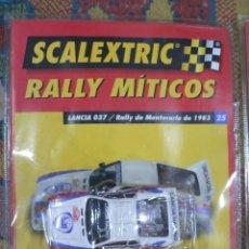 Scalextric: COCHE SCALEXTRIC .LANCIA 037. COLECCIÓN RALLY MÍTICOS DE ALTAYA. COMPLETO. CERTIFICADO.. Lote 242470655