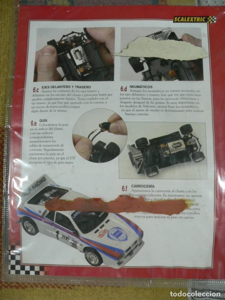Scalextric: Coche SCALEXTRIC .Lancia 037. Colección Rally míticos de Altaya. Completo. Certificado. - Foto 2 - 242470655