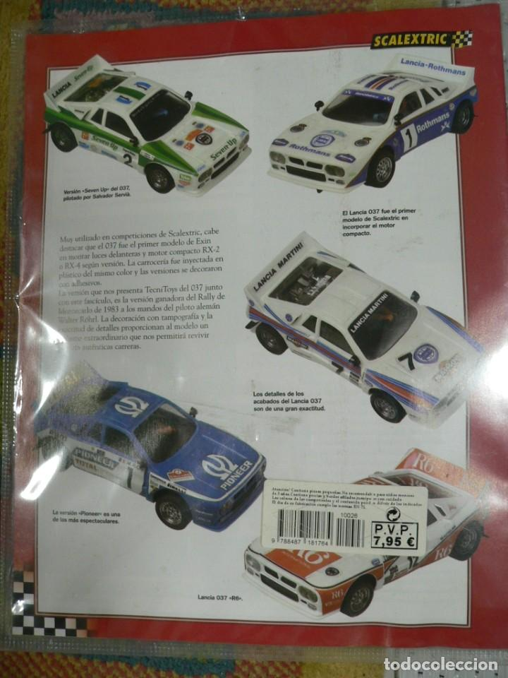 Scalextric: Coche SCALEXTRIC .Lancia 037. Colección Rally míticos de Altaya. Completo. Certificado. - Foto 3 - 242470655