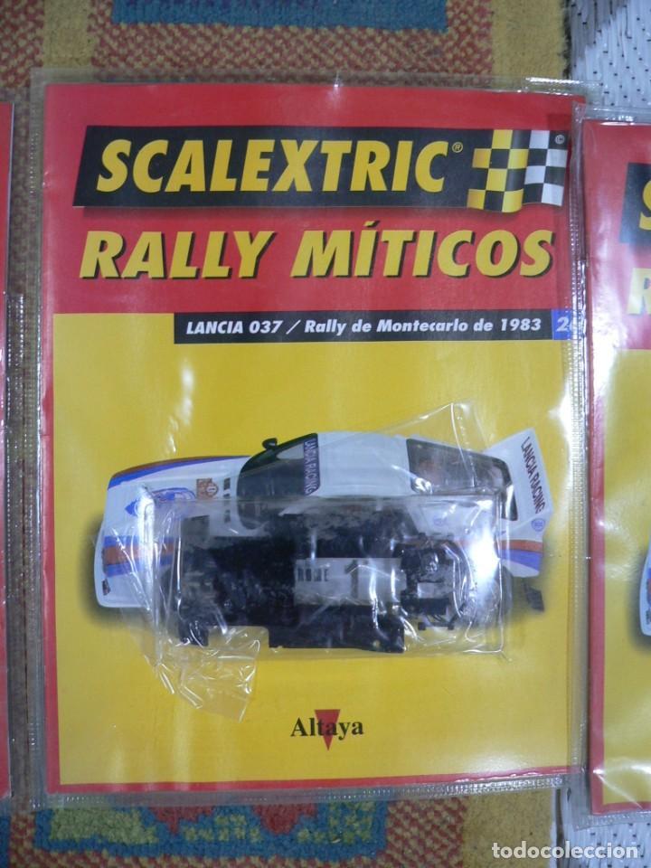 Scalextric: Coche SCALEXTRIC .Lancia 037. Colección Rally míticos de Altaya. Completo. Certificado. - Foto 4 - 242470655