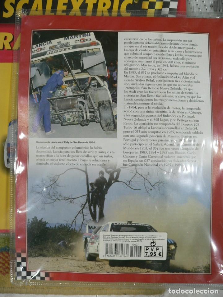 Scalextric: Coche SCALEXTRIC .Lancia 037. Colección Rally míticos de Altaya. Completo. Certificado. - Foto 5 - 242470655
