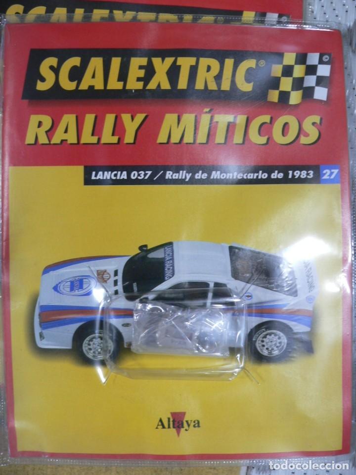 Scalextric: Coche SCALEXTRIC .Lancia 037. Colección Rally míticos de Altaya. Completo. Certificado. - Foto 6 - 242470655