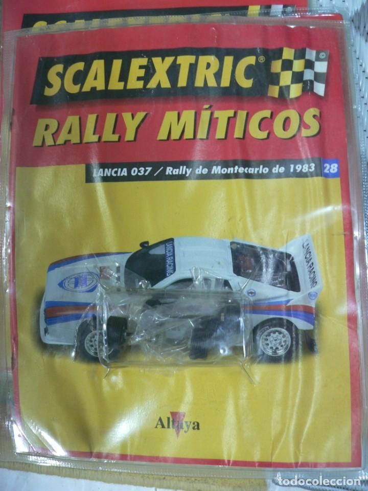 Scalextric: Coche SCALEXTRIC .Lancia 037. Colección Rally míticos de Altaya. Completo. Certificado. - Foto 8 - 242470655