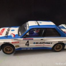 Scalextric: CHAXIS SCALEXTRIC,BMW M3, Nº4,BLAUPUNKT, MOTUL, PEP BASAS, A. RGUEZ, 1º PRINCIPE DE ASTURIAS 1989. Lote 242919060