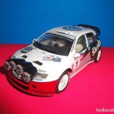 Scalextric: SKODA FABIA WRC CARLOS SAINZ. SCALEXTRIC TECNITOYS. Lote 243459400
