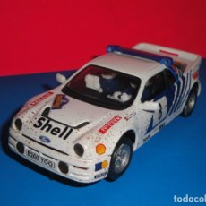 Scalextric: FORD RS 200 EFECTO BARRO. SCALEXTRIC RALLY MÍTICOS. Lote 243655280