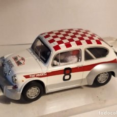 Scalextric: FIAT 1000 ABARTH RALLY OURENSE 1967 DE SCALEXTRIC. Lote 243829305