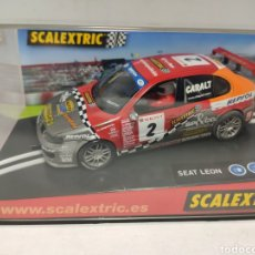 Scalextric: SCALEXTRIC SEAT LEON SCALEXTRIC TECNITOYS REF. 6133. Lote 243834840