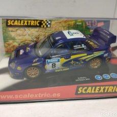 Scalextric: SCALEXTRIC SUBARU IMPREZA WRC SWRT TECNITOYS REF. 6123. Lote 243839015