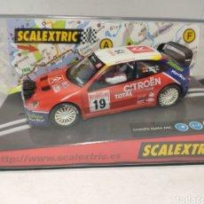 Scalextric: SCALEXTRIC CITROEN XSARA WRC MONTECARLO TECNITOYS REF. 6122. Lote 243840310