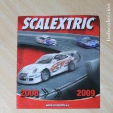 Scalextric: CATALOGO DE NOVEDADES SCALEXTRIC 2008 / 2009. TECNITOYS. VER FOTOS. 16 PAGINAS.. Lote 244858745