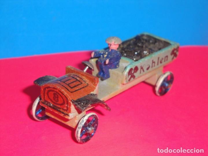 COCHE DE MADERA. DENIA AÑOS 60 (Juguetes - Slot Cars - Scalextric Tecnitoys)