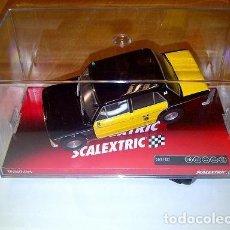 Scalextric: OFERTON !!!! SEAT 1430 TAXI DE BARCELONA SCALEXTRIC REFERENCIA A10073S300. AGOTADO. Lote 297107158