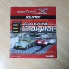 Scalextric: CATALOGO SCALEXTRIC TECNITOYS, DIGITAL SYSTEM AÑOS 2006 - 2007. COCHES, ACCESORIOS, CONSEJOS, .... Lote 248091490