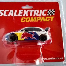 Scalextric: SCALEXTRIC COMPACT AUDI S1 WRX RED BULL., NUEVO EN BLISTER ORIGINAL. Lote 248823620