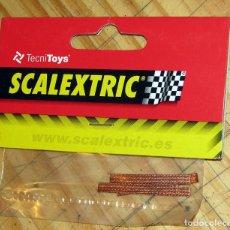 Scalextric: SCALEXTRIC - TECNITOYS - BOLSA CON 4 TRENCILLAS - REF. 8614 - NUEVO, SIN ABRIR. Lote 252260990