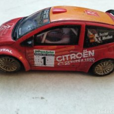 Scalextric: SCALEXTRIC, CITROEN C2 JWRC, TECNITOYS ( MADE IN CHINA ). Lote 253936805