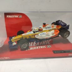 Scalextric: SCALEXTRIC ING RENAULT F1 R28 TEAM TECNITOYS REF. 6332 FERNANDO ALONSO. Lote 254053610