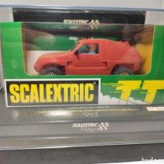 Scalextric: SCALEXTRIC MITSUBISHI PAJERO TT ROJO VINTAGE TECNITOYS REF. 6346. Lote 254429180