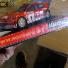 Scalextric: ANTIGUO COCHE DE SCALEXTRIC SLOT TECNITOYS PEUGEOT 206 TOTAL - WRC. Lote 256084900