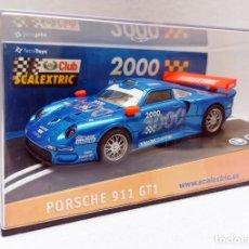 Scalextric: CLUB SCALEXTRIC 2000 PORSCHE911 REF. 6043 NUEVO A ESTRENAR. Lote 257486520