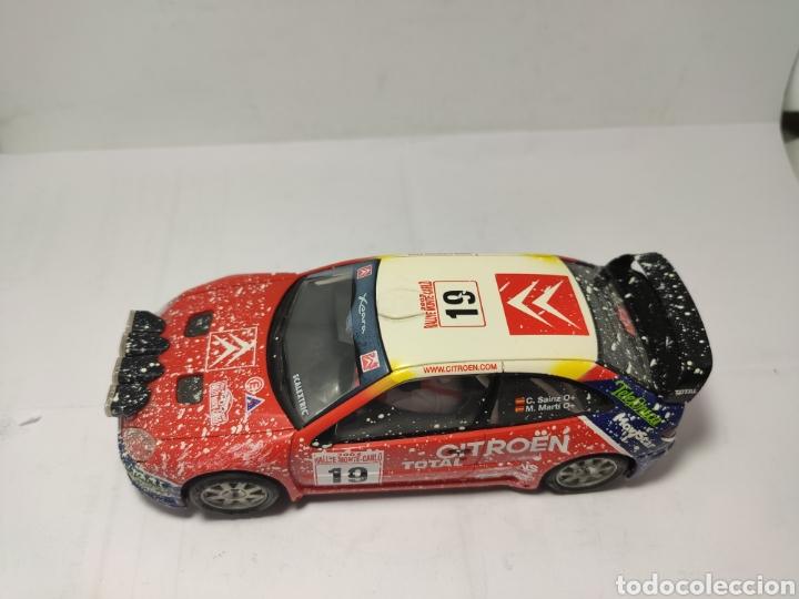 Scalextric: SCALEXTRIC CITROEN XSARA WRC EFECTO NIEVE - Foto 2 - 257523270