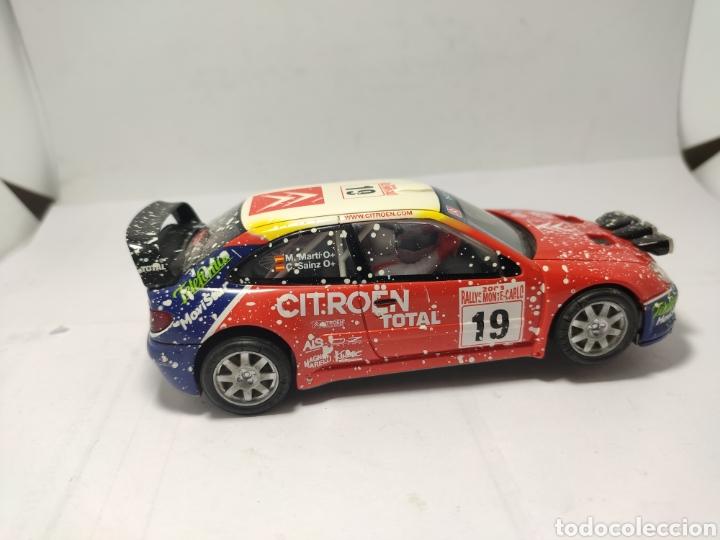 Scalextric: SCALEXTRIC CITROEN XSARA WRC EFECTO NIEVE - Foto 4 - 257523270