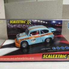 Scalextric: FIAT 600 ABARTH , GULF , AZUL. Lote 257719610