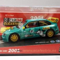 Scalextric: CLUB SCALEXTRIC 2001 SEAT CORDOBA WRC REF. 6061 NUEVO. Lote 257943180