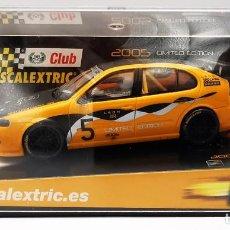 Scalextric: CLUB SCALEXTRIC 2005 SEAT LEON CUPRA R REF. 6169 NUEVO. Lote 257969395