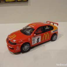 Scalextric: SCALEXTRIC. ALTAYA. SEAT LEON MCDONALS. COLECCIÓN SEAT SPORT. Lote 273498443