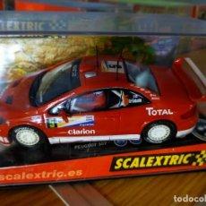 Scalextric: ANTIGUO COCHE DE SCALEXTRIC SCX TECNITOYS PEUGEOT 307 CC WRC - GRÖNHOLM. Lote 261332235