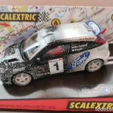 Scalextric: SCALEXTRIC FORD FOCUS WRC EFECTO NIEVE REF.-6062. Lote 262555630