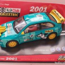 Scalextric: SCALEXTRIC SEAT CORDOBA WRC CLUB SCALEXTRIC 2001 REF.-6061. Lote 262555820