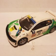 Scalextric: SCALEXTRIC PEUGEOT 206 WRC. Lote 262831315