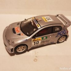 Scalextric: SCALEXTRIC PEUGEOT 206 WRC. Lote 262831385