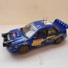 Scalextric: SCALEXTRIC SUBARU IMPREZA WRC LUCES DE XENON. Lote 262887450