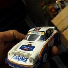 Scalextric: ANTIGUO COCHE DE RALLY SLOT SCALEXTRIC SCX TECNITOYS - PORSCHE 911 SC ROTHMANS. Lote 263578505