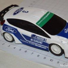 Scalextric: FORD FIESTA WRC / SCALEXTRIC EDUCA BORRAS - SLOT - FUNCIONANDO - ¡MIRA FOTOS Y DETALLES!. Lote 263588050