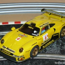Scalextric: SCALEXTRIC TECNITOYS COCHE PORSCHE 911 GT1 PENNZOIL TOP MARQUES 1:32 SLOT CAR ALFREEDOM. Lote 264234288