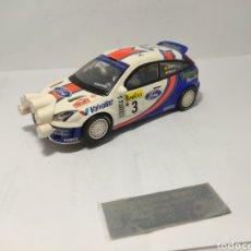 Scalextric: SCALEXTRIC FORD FOCUS WRC ALTAYA COLECCIÓN CARLOS SAINZ. Lote 264853384