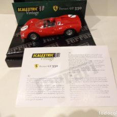 Scalextric: SCALEXTRIC. FERRARI GT 330 VINTAGE. REF. 6028. Lote 254071270