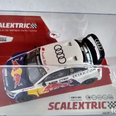 Scalextric: SCALEXTRIC AUDI S1 WRX RED BULL., NUEVO EN URNA. CON LUCES. Lote 267438124