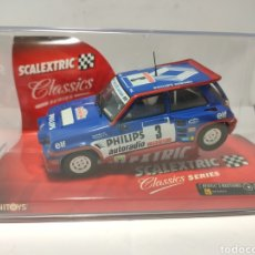Scalextric: SCALEXTRIC RENAULT 5 MAXITURBO TECNITOYS REF. 6240. Lote 269298653